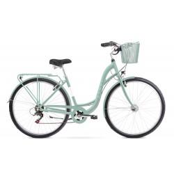 Vélo ROMET CITY 28 pouces SONATA ECO menthe M