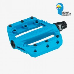 Pédales Junior SDG SLATER Cyan Blue 90mmx90mm