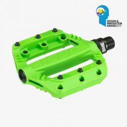 Pédales Junior SDG SLATER Neon Green 90mmx90mm