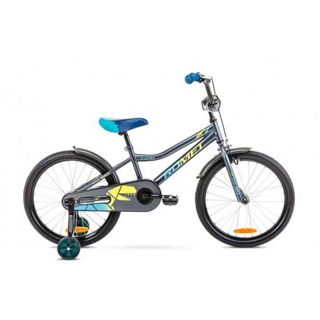 Vélo ROMET KID 20 pouces TOM 20 jaune anthracite S