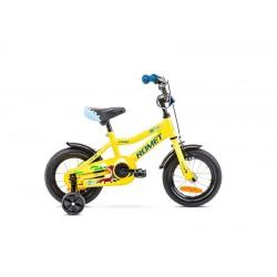 Vélo ROMET KID 12 pouces TOM jaune-bleu S