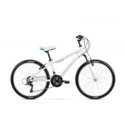 Vélo ROMET JUNIOR 24 pouces JOLENE 24 blanc-bleu-rose S