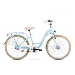 Vélo ROMET JUNIOR 24 pouces PANDA 2 Bleu-blanc S