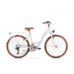 Vélo ROMET JUNIOR 24 pouces PANDA 1 blanc et bleu S