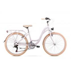 Vélo ROMET JUNIOR 24 pouces PANDA 1 blanc S