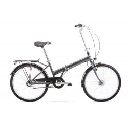Vélo ROMET CITY 24 pouces JUBILAT 2 graphite