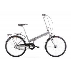 Vélo ROMET CITY 24 pouces JUBILAT 3 argent