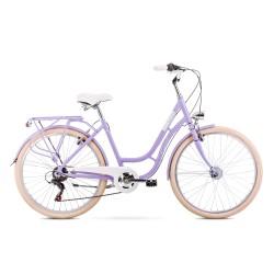 Vélo ROMET CITY 26 pouces TURING 6S violet