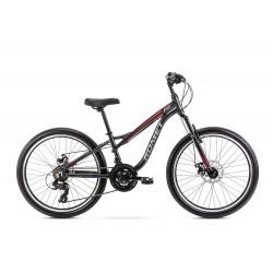 Vélo ROMET JUNIOR 24 pouces RAMBLER FIT 24 rouge graphite