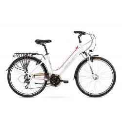 Vélo ROMET TREKKING 26 pouces GAZELA 26 2 blanc et noir S