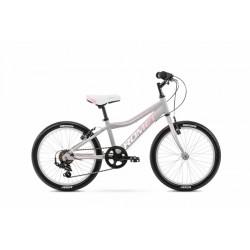 Vélo ROMET KID 20 pouces JOLENE 20 KID 1 gris-rose S